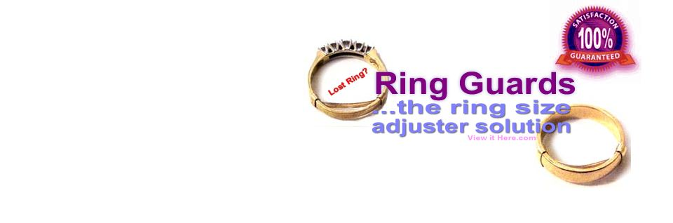 Ring Guard Ring Size Adjuster Order Page